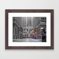 Chicago Board of Trade Framed Art Print