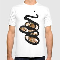 Greco  Mens Fitted Tee White SMALL