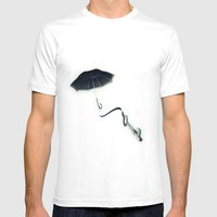 Hope Floats Away Mens Fitted Tee White SMALL