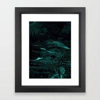 Fern Evolve Framed Art Print