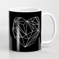 Heart Graphic (Black) Mug
