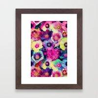 Be always in bloom Framed Art Print
