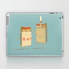 Light my match Laptop & iPad Skin