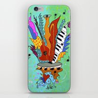 Blooming Notes V. iPhone & iPod Skin