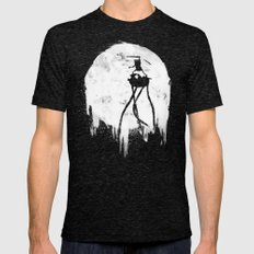 Midnight Adventure Mens Fitted Tee Tri-Black SMALL