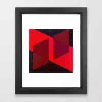 DUBBLEBIND Framed Art Print