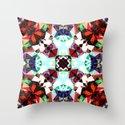 Colorful Kaleidoscope Creation Throw Pillow