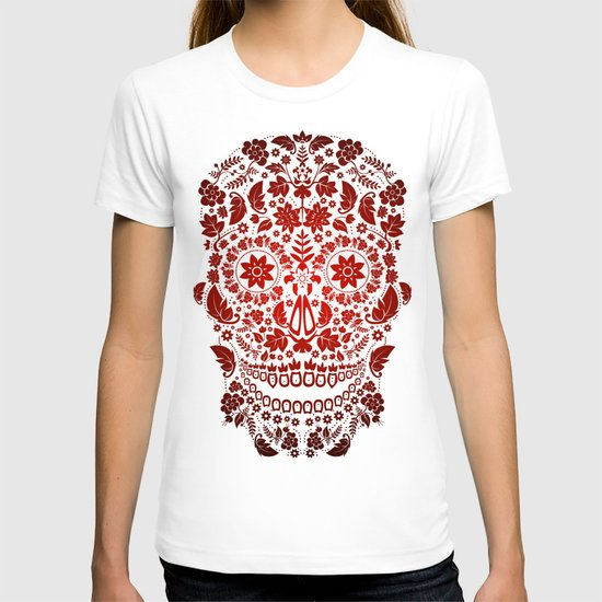 Day of the Dead Skull No.19 T-shirt