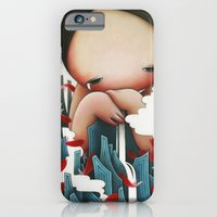 iPhone & iPod Case featuring Crying Mountain by P a o P a o .