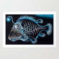 Beauty From The Dead Deep Art Print