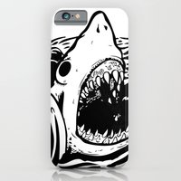 iPhone & iPod Case featuring Shark off by Lunaramour