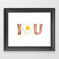Bacon Framed Art Print