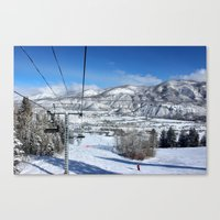 Summit Express Canvas Print