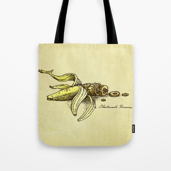 Clockwork Banana Tote Bag