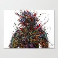 Raiden Canvas Print