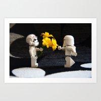 Star Wars Clone Love Art Print