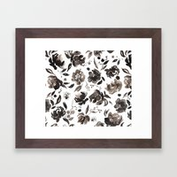 Winter blossom Framed Art Print