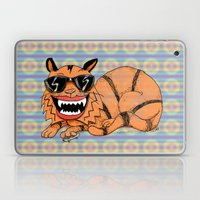 Kickflip Cat Laptop & iPad Skin