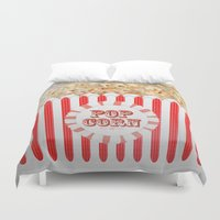 POP CORN Duvet Cover