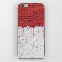 Bleached Brick iPhone & iPod Skin