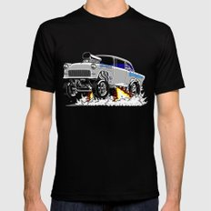 Quicksilver Gasser Black SMALL Mens Fitted Tee