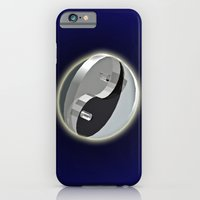DOUBLE YIN AND YANG IN SPACE iPhone 6 Slim Case