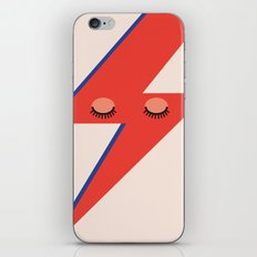 Music Minimals - David Bowie iPhone & iPod Skin