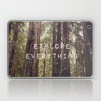 EXPLORE EVERYTHING In Th… Laptop & iPad Skin