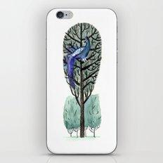 Peacock in a Tree iPhone & iPod Skin
