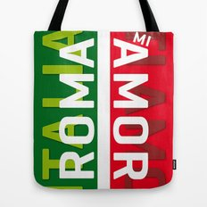 Roma Mi Amor. Italia Italy Poster iPhone 4 5 6, ipod, ipad case Samsung Galaxy Tote Bag