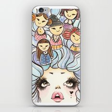 Kokeshis iPhone & iPod Skin
