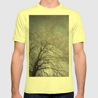 The Tree Mens Fitted Tee Lemon SMALL
