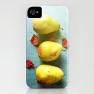 Three Pears iPhone (4, 4s) Slim Case