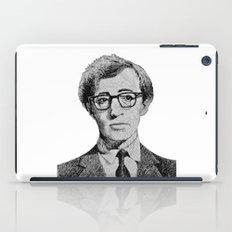 Woody Allen portrait  iPad Case