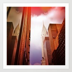 CHRYSLER BUILDING NYC' Art Print