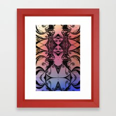 Complacent Framed Art Print