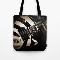 The Guitar Player Tote Bag