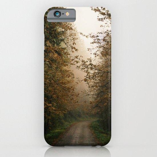 Oregon Fall Road iPhone & iPod Case