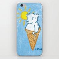 Icebear iPhone & iPod Skin