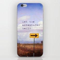 Adventures iPhone & iPod Skin