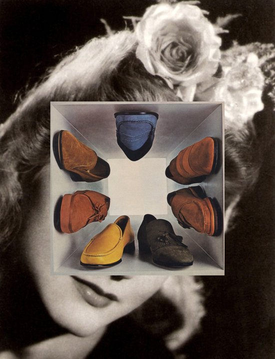 shoes (box) Art Print