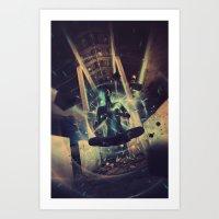 Power Trip Art Print