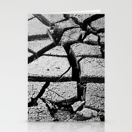 Cracked Earth Stationery Card