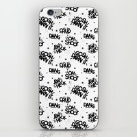 PG Cussin' Pattern iPhone & iPod Skin