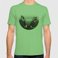 Mordecai & Rigby Mens Fitted Tee Grass SMALL