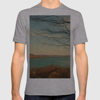 Splendid Autumn Mens Fitted Tee Athletic Grey SMALL