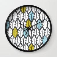 Foliar Wall Clock