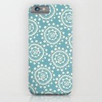 Wheels: Blue iPhone 6 Slim Case