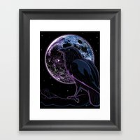 Raven Of Nevermore Framed Art Print