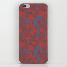Mauve Poppies iPhone & iPod Skin